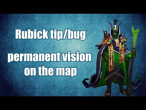 Rubick bug - permanent vision on map