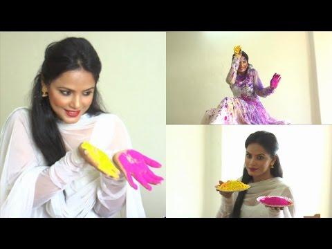 Holi Celebration With Bollywood Actress Neetu Chandra