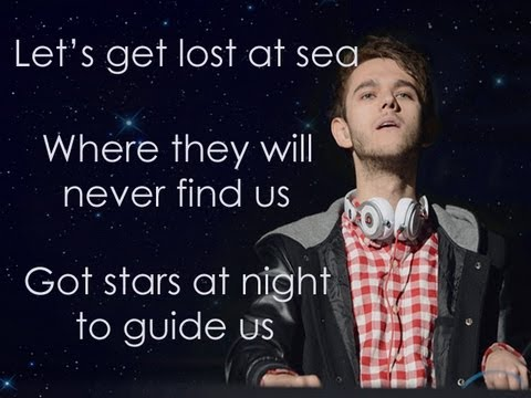 Tekst piosenki Zedd - Lost at sea (feat. Ryan Tedder ) po polsku