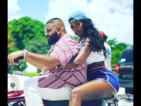 Bernice Burgos At DJ Khaled Do You Mind Official Music Video- Behind The Scenes
