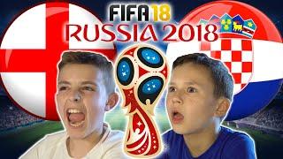 WORLD CUP 2018 SEMI FINAL | ENGLAND VS CROATIA | FIFA 18 SCORE PREDICTOR!
