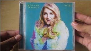 Title - Meghan Trainor - Unboxing CD en Español