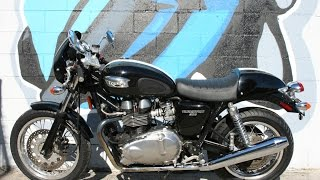 10. 2007 Triumph Thruxton 900 Motorcycle For Sale