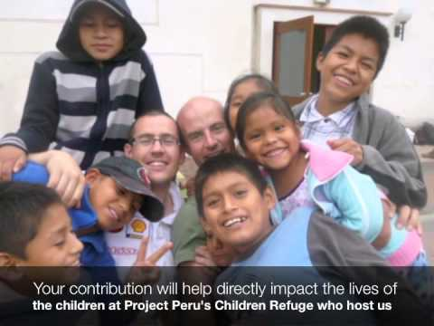 Project Peru - Helping build homes for 500 - Ben Brophy's 2013 Appeal - Can you support please?