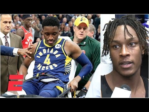 Video: Victor Oladipo's Pacers teammates react to his devastating injury | NBA Sound