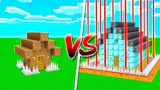 Video NOOB SAFEST HOUSE vs PROS SAFEST MINECRAFT HOUSE! MP3, 3GP, MP4, WEBM, AVI, FLV Juni 2019