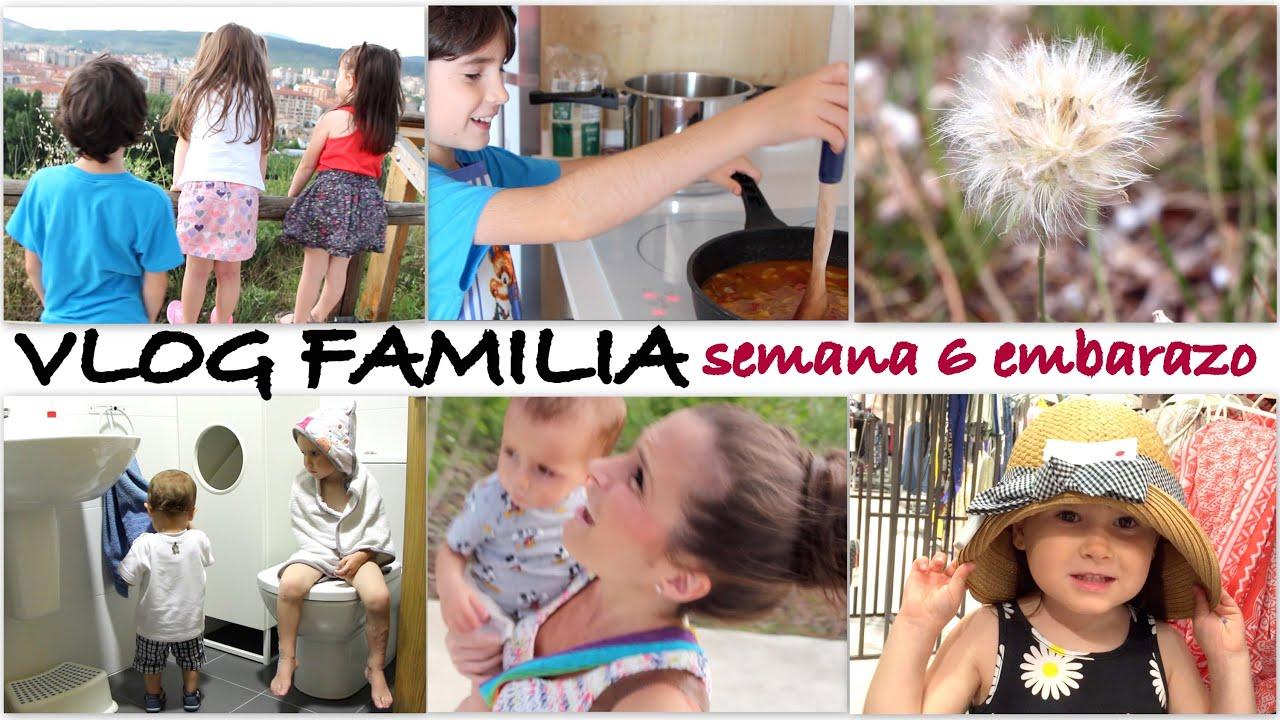 VLOG FAMILIAR semana 6 embarazo (PARTE 1)/ Arroz estilo Aimar, tormenta y flor de los deseos