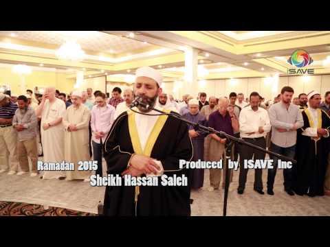 Wonderful Tilaweh Sheikh Hassan Saleh Ramadan 2015 Chicago HD - تلاوة رائعة الشيخ حسن صالح