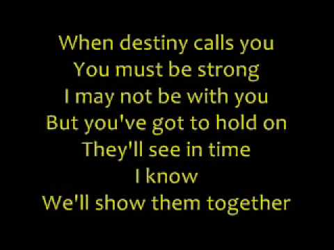 Phil Collins - You'll Be In My Heart with Lyrics