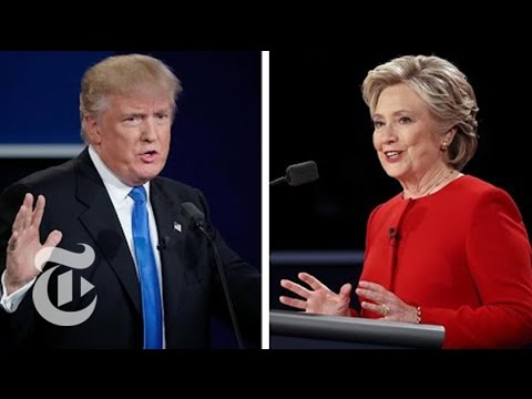 First Presidential Debate | Election 2016 | The New York Times (видео)