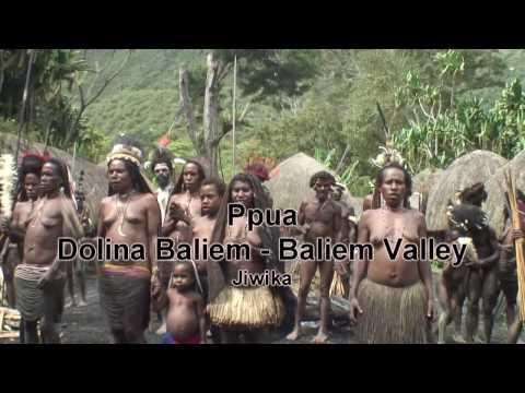Papua - Baliem Valley - Jiwika village festival - Dolina Baliem