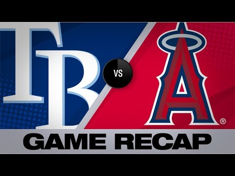 d'Arnaud propels the Rays past the Halos | Rays-Angels Game Highlights 9/14/19