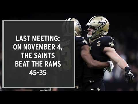 Video: NFC Championship: Rams Vs. Saints Preview