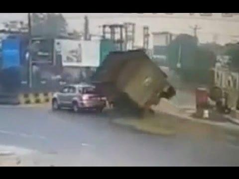 ТОП 5 шокирующих аварий - Раздавлены и похоронены