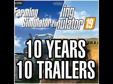 All Farming Simulator Trailers EVER (2009 - 2019) | + FS 19 Trailer