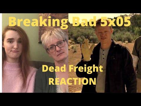 """Breaking Bad Season 5 Episode 5 """"Dead Freight"""" REACTION!!"""