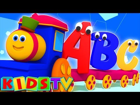 Bob The Train | Alphabet Adventure | abc Song | abcd song | kids tv show | Bob Cartoons