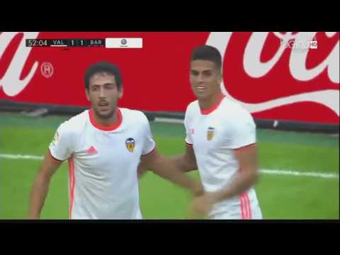 Valencia Vs Barcelona 2 3 All Goals & Highlights 22 10 2016