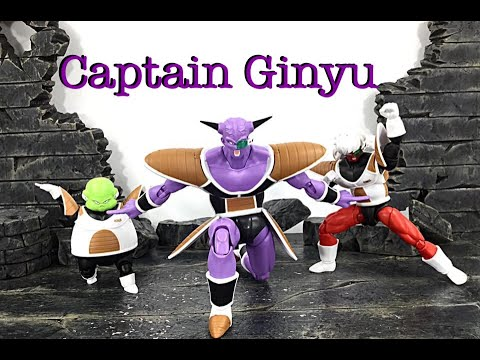 Demoniacal Fit Dragon Ball Z CAPTAIN GINYU Action Figure Toy Review
