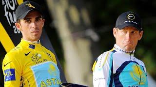 Video The Lance Armstrong and Alberto Contador Rivalry MP3, 3GP, MP4, WEBM, AVI, FLV Juni 2019