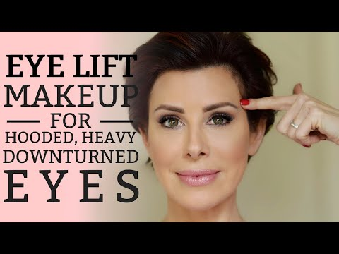 """Eye Lift"" Makeup For Hooded, Heavy Or Downturned Eyes 