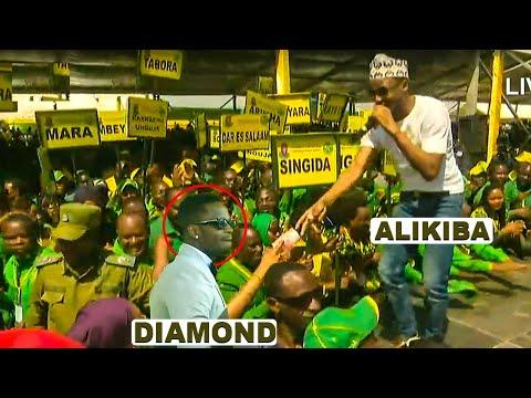 🔴#LIVE: ONA DIAMOND AKICHEZA WIMBO WA ALIKIBA WAKATI AKIMUIMBIA RAIS MAGUFULI