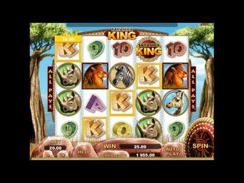 Как играть в игровой автомат Savanna King. Обучающее видео.