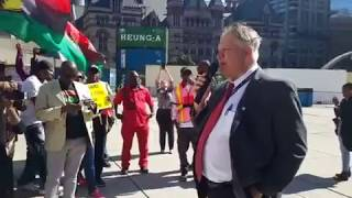 Biafra Rally  in Canada: Stop the Genocide