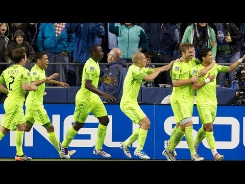 2011 Open Cup Final - Seattle Sounders FC vs. Chicago Fire: - Fredy Montero Goal - Oct. 4, 2011