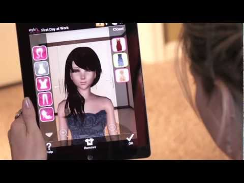 Video of Style Me Girl: Free 3D Dressup