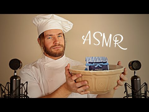 [ASMR] Baking & Eating 🍪 Mouth Sounds, Whispering & Relaxation 🍪