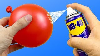 Video 20 INCREDIBLE IDEAS WITH WD-40 | WD-40으로 20 가지 놀라운 아이디어 MP3, 3GP, MP4, WEBM, AVI, FLV Juli 2019