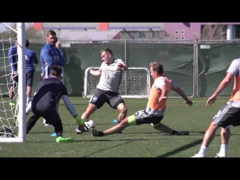 Video: EXCLUSIVE ACCESS | Jordan Morris' first training session with Sounders FC