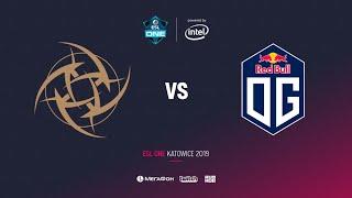 NiP vs OG, ESL One Katowice 2019, bo3, game 2, [Adekvat & Lumisit]