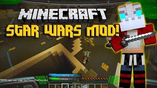 Minecraft Modded Star Wars BATTLE FOR THE DEATH STAR! w/Nooch&Firends!