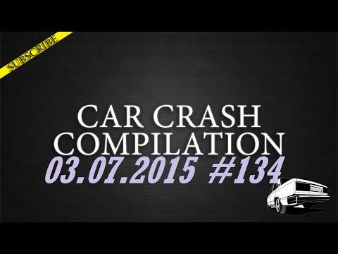 Car crash compilation #134 | Подборка аварий 03.07.2015