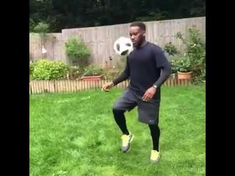 JAY JAY OKOCHA DANCING ISSA GOAL BY OLAMIDE WITH A BALL