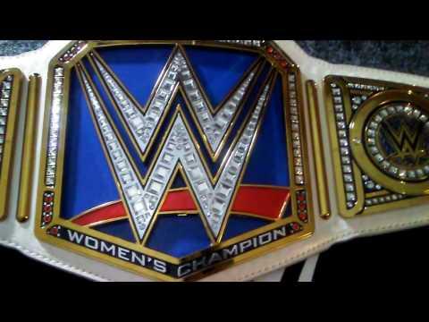 WWE SmackDown Womens Championship .. Commemorative Edition belt!!