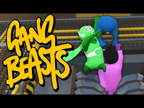I WHIP MY CAPE BACK AND FORTH | Gang Beasts Online (видео)