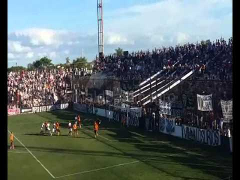Hinchada Chaco For Ever vs Sarmiento 13/03/2016 - Los Negritos - Chaco For Ever