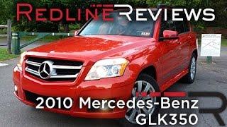 2010 Mercedes-Benz GLK350 Review, Walkaround, Exhaust,&Test Drive