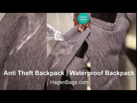 Anti Theft Backpack | Waterproof Backpack | Laptop Backpack