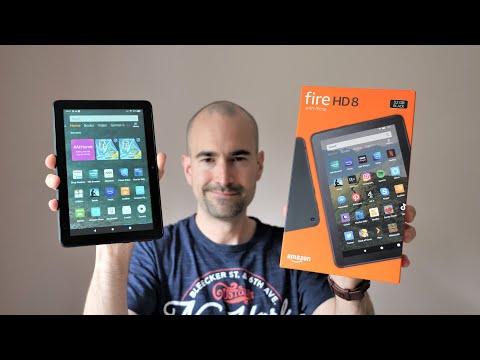 Amazon Fire HD 8 (2020) | Budget Tablet Unboxing & Tour