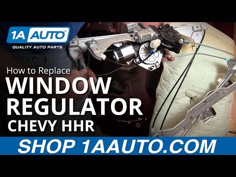 How To Install Replace Broken Front Power Window Regulator Chevy HHR 06-10 1AAuto.com