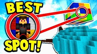 PEARL Glitching into IMPOSSIBLE Hiding Spot in Bedwars! (Minecraft BEDWARS)