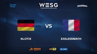 Klotix vs exilessmath, game 1