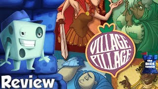 Village Pillage Review - with Tom Vasel