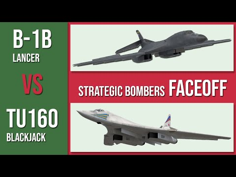 America's B-1b Lancer vs Russia's...