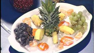 Fruit Platter And Appetizer For The Holidays