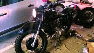 3. Ural 750 First Sounds after three years in parts